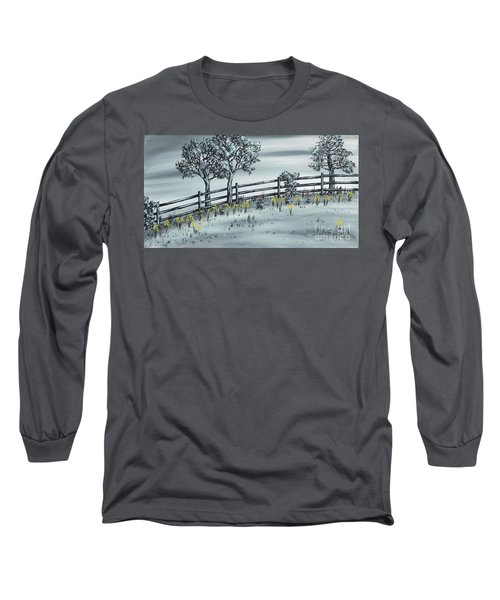 Long Sleeve T-Shirt featuring the painting Spring Time by Kenneth Clarke