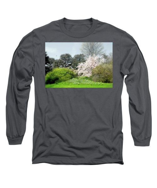 Long Sleeve T-Shirt featuring the photograph Spring Treasures by Diana Angstadt