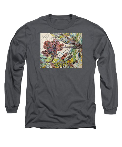Springing Long Sleeve T-Shirt by Erika Pochybova