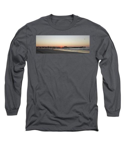 Springmaid Pier Sunrise Long Sleeve T-Shirt
