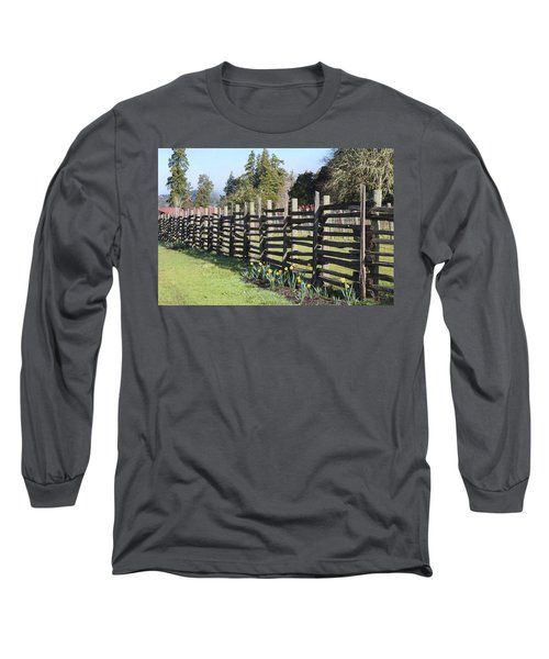 Springtime In Anderson Valley Long Sleeve T-Shirt