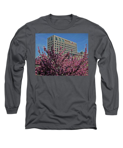 Springtime In Stamford Long Sleeve T-Shirt