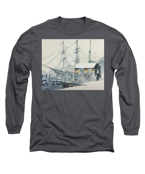 Square Rigger Long Sleeve T-Shirt by Stan Tenney