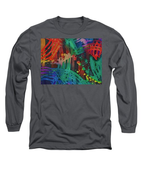 Squares And Other Shapes 2 Long Sleeve T-Shirt