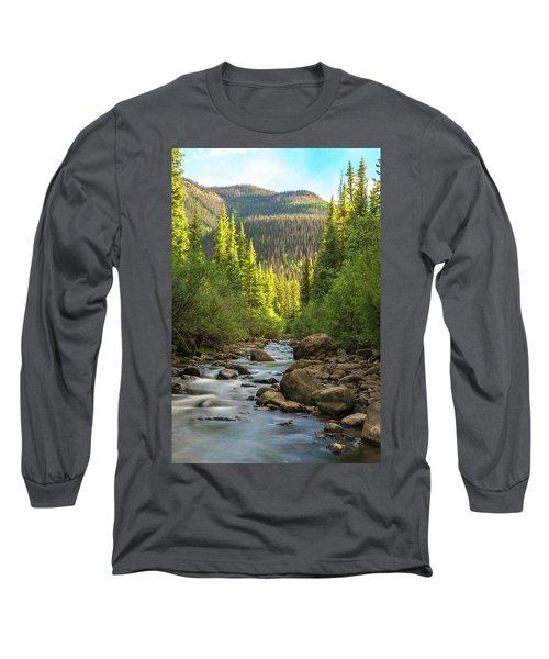 Squaw Creek, Colorado #2 Long Sleeve T-Shirt
