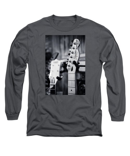 Long Sleeve T-Shirt featuring the photograph Squier Telecaster by Andy Crawford
