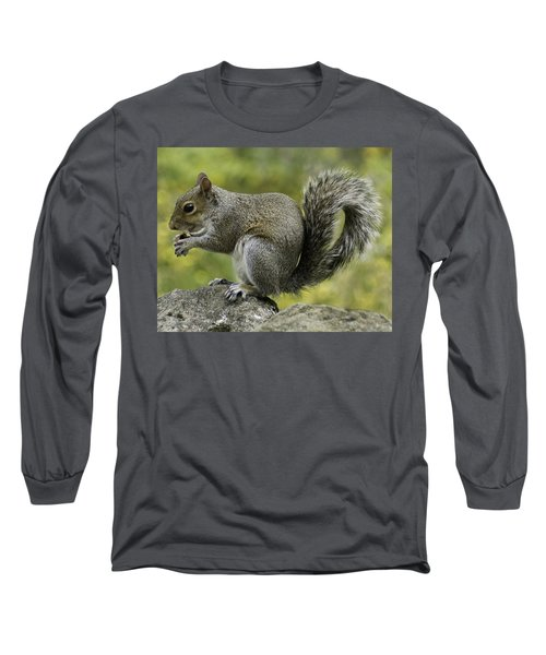 Squirrel, On The Hop Long Sleeve T-Shirt