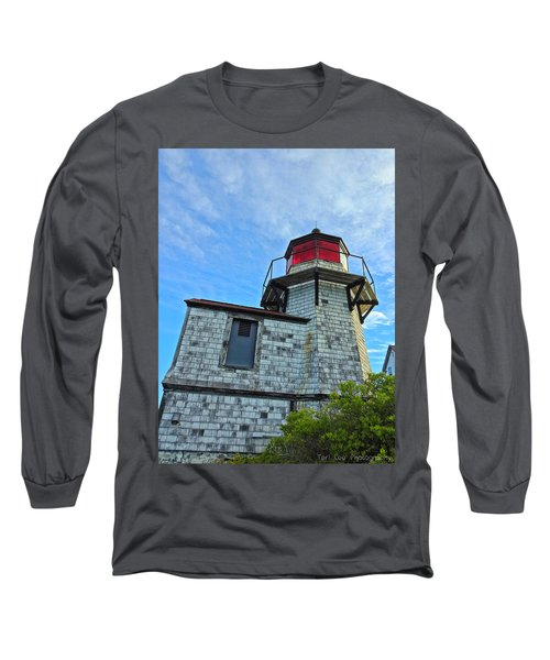 Squirrel Point Lighthouse Long Sleeve T-Shirt