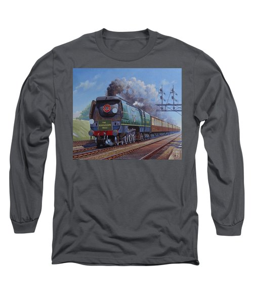 Sr Merchant Navy Pacific Long Sleeve T-Shirt by Mike  Jeffries