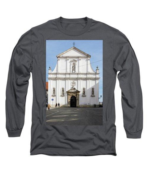 St. Catherine's Church Long Sleeve T-Shirt by Steven Richman