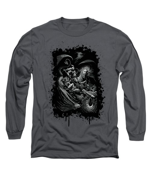 St. George And Dragon T-shirt Long Sleeve T-Shirt