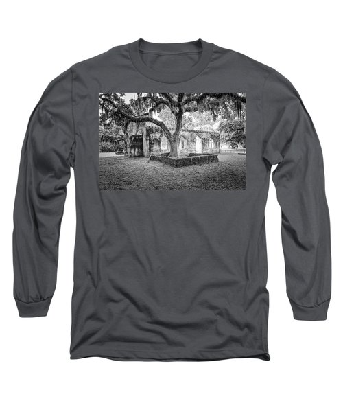 St. Helena Tabby Church Long Sleeve T-Shirt