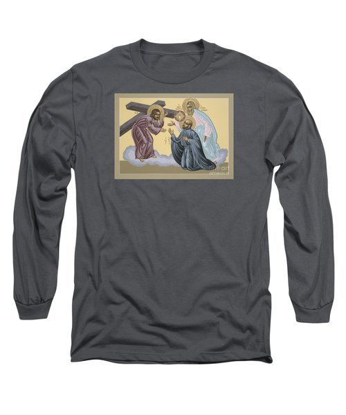 St Ignatius Vision At La Storta 074 Long Sleeve T-Shirt