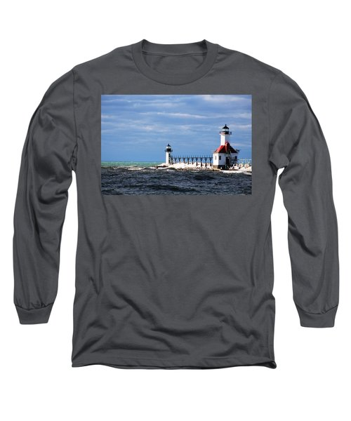 St. Joseph Lighthouse - Michigan Long Sleeve T-Shirt