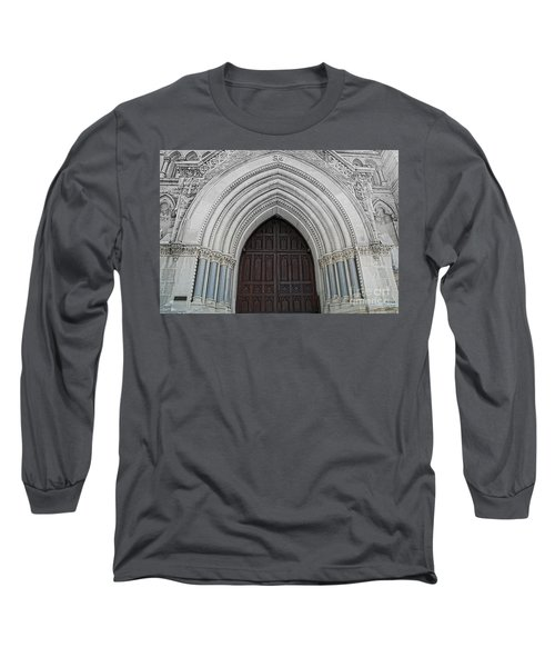 St. Mary Cathedral- Austin Texas Long Sleeve T-Shirt
