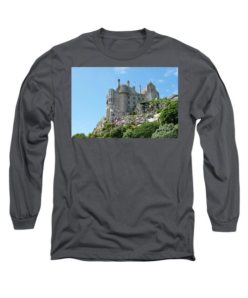 St Michael's Mount Castle Long Sleeve T-Shirt