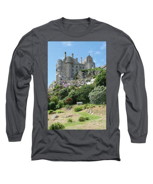 St Michael's Mount Castle II Long Sleeve T-Shirt