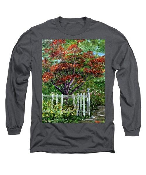 St. Michael's Tree Long Sleeve T-Shirt