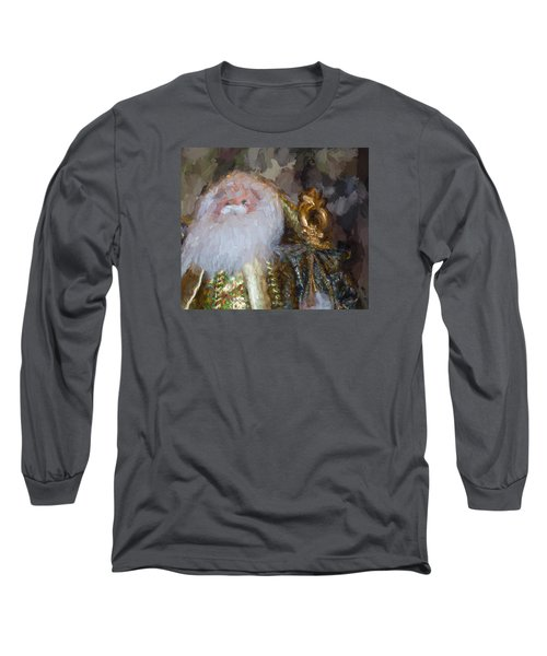 St. Nicolas Long Sleeve T-Shirt by Cathy Jourdan