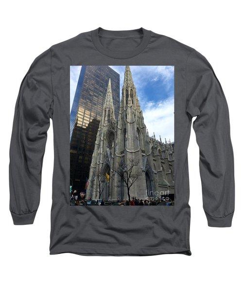 St. Patricks Cathedral Long Sleeve T-Shirt