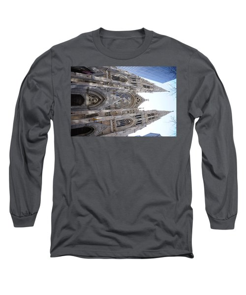 St Patrick's Cathedral Nyc Long Sleeve T-Shirt