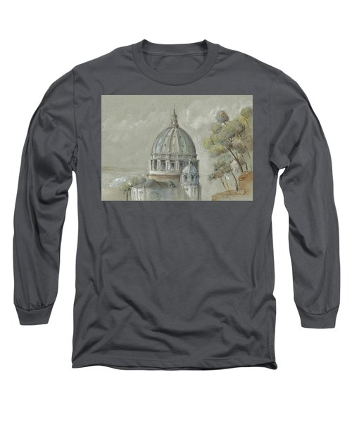 St Peter's Basilica Rome Long Sleeve T-Shirt
