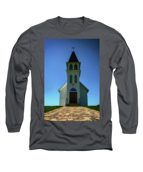 Long Sleeve T-Shirt featuring the photograph St. Peter's Church 2 by Joseph Hollingsworth