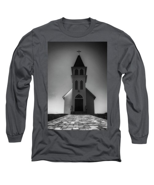 Long Sleeve T-Shirt featuring the photograph St. Peter's Church by Joseph Hollingsworth