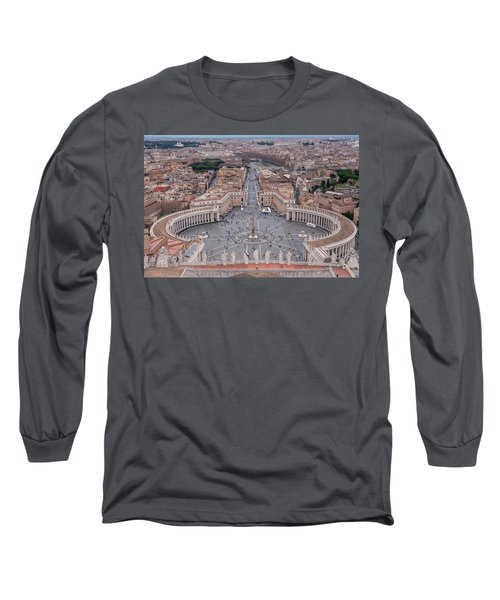 St. Peter's Square Long Sleeve T-Shirt by Sergey Simanovsky