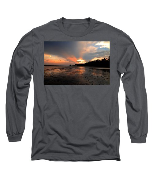 St Simons Island Long Sleeve T-Shirt