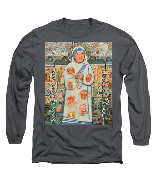 St. Teresa Of Kolkata Long Sleeve T-Shirt