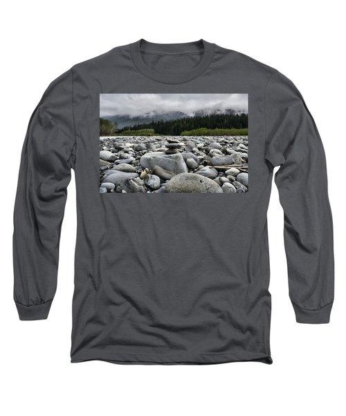 Stacked Rocks Long Sleeve T-Shirt