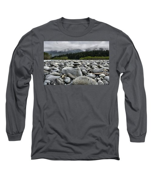 Stacked Rocks Long Sleeve T-Shirt