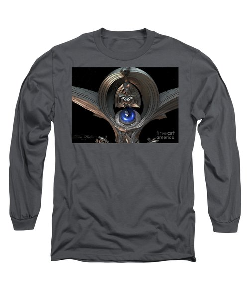 Staff Of Righteousness Long Sleeve T-Shirt by Melissa Messick
