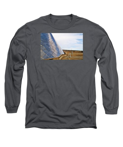 Staircase  Long Sleeve T-Shirt by Martin Cline