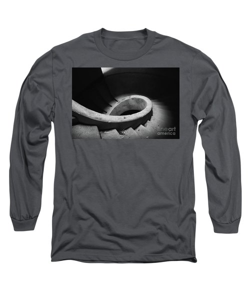 Stairs Abandoned Hotel Long Sleeve T-Shirt