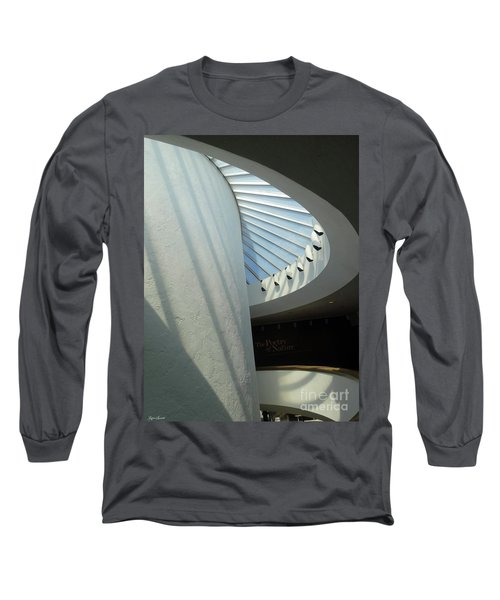 Stairway Abstract Long Sleeve T-Shirt by Lyric Lucas