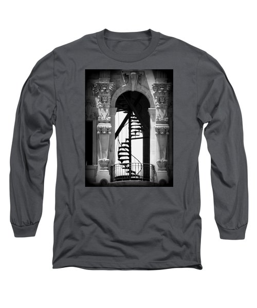 Stairway To Heaven Bw Long Sleeve T-Shirt