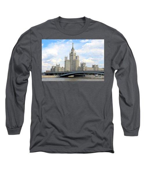 Kotelnicheskaya Embankment Building Long Sleeve T-Shirt