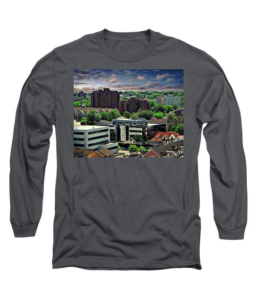 Stamford Cityscape Long Sleeve T-Shirt