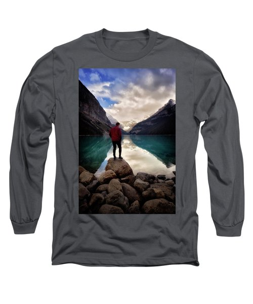 Standing Alone Long Sleeve T-Shirt by Nicki Frates