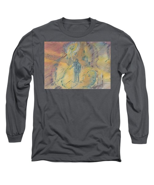 Standing At The Crossroads Long Sleeve T-Shirt