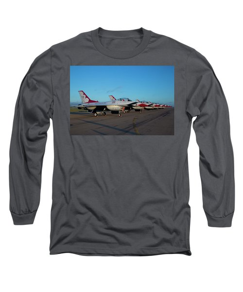 Standing In Formation Long Sleeve T-Shirt