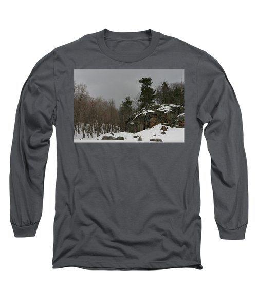 Standing Long Sleeve T-Shirt