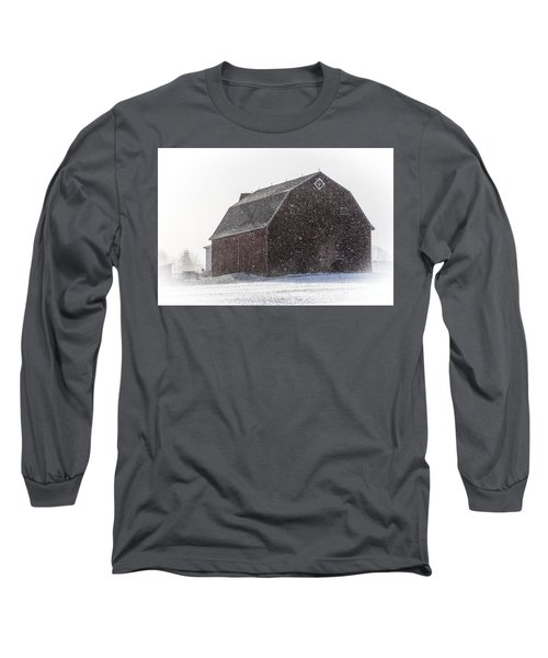 Standing Tall In The Snow Long Sleeve T-Shirt