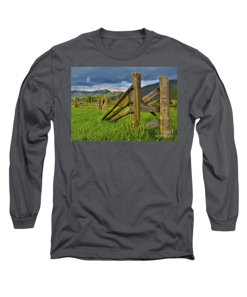 Standing The Test Of Time Long Sleeve T-Shirt by John Roberts