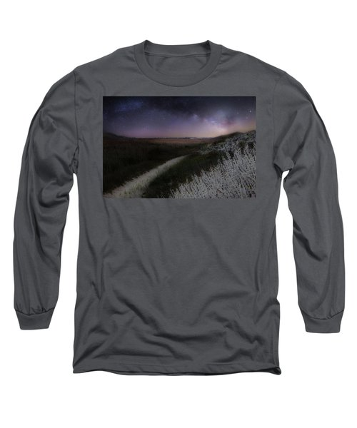 Long Sleeve T-Shirt featuring the photograph Star Flowers by Bill Wakeley