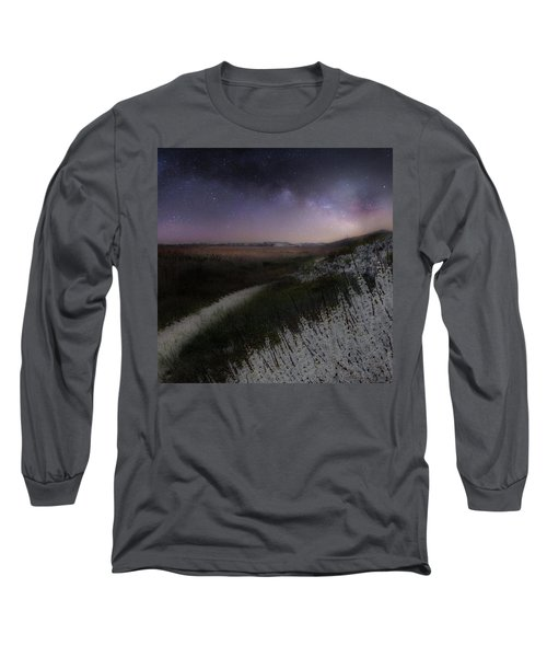 Long Sleeve T-Shirt featuring the photograph Star Flowers Square by Bill Wakeley