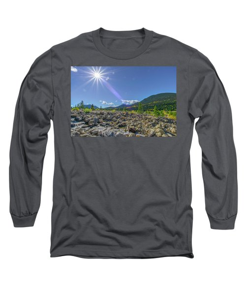 Star Over Creek Bed Rocky Mountain National Park Colorado Long Sleeve T-Shirt