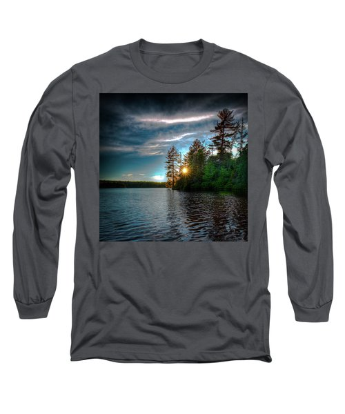 Star Sunset Long Sleeve T-Shirt by David Patterson